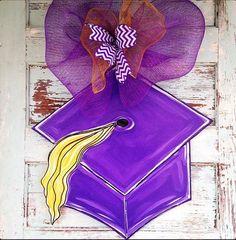 Graduation Door Hanger Graduation Sign by BluePickleDesigns, $45.00