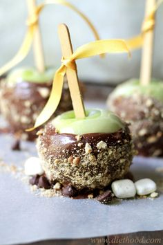s'mores apples
