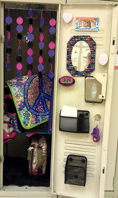 cascad bead, locker decorations, diy school, locker idea, locker stuff, school locker