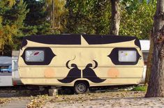Hipster Camper! Love this, it's so me.