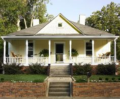Keeping your home's exterior symmetrical is a way to add curb appeal: http://www.bhg.com/home-improvement/windows/window-buying-guide/entry-windows-design-ideas/?socsrc=bhgpin062714porchplacement&page=14