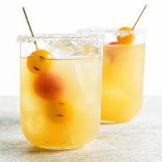 Cherry Tomato Margarita - use sweet yellow cherry tomatoes