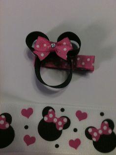 Mini mouse clip