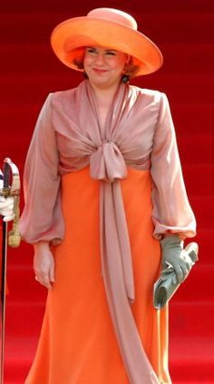 Grand Duchess Maria Teresa of Luxembourg, 2003 | The Royal Hats Blog