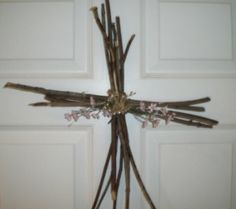 Simple crosses the kids can make as an Easter craft.