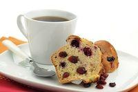 Sour Cream Cranberry Muffins