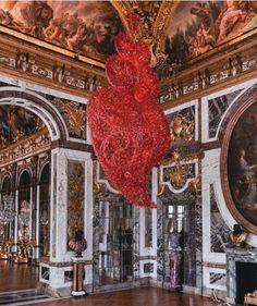 modern art collections at Le Chateau de Versailles