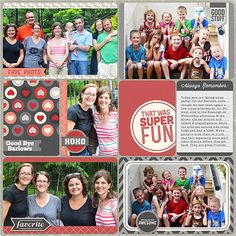 @Kellie Dyne Dyne Dyne Dyne Dyne Turner makes such gorgeous Project Life pages! | My Guy - Life in Pictures Kit from Peppermint Creative