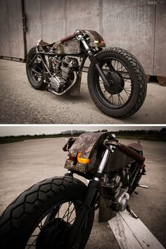 """With a population of over 1.3 billion, there are bound to be some interesting custom motorcycles being built in China. Unfortunately, we don't get to see most of them.   This Honda CB125 custom has come to light by accident, via the motorcycle historian Paul d'Orléans. And it's an absolute cracker. It was built by photographer Valen Zhou of Chengdu and he's called it 'Monstub'—a mix of monster and cub—""""because it looks weird and has a small engine."""""""