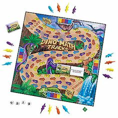 Dino Math Tracks® Place-Value Game - Addition & Subtraction - Number Sense & Operations - NCTM Standards - Math - Shop by Subject - Teachers - Learning Resources®
