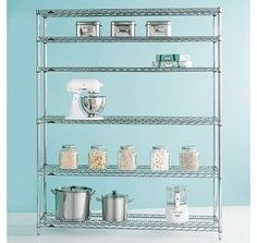 Industrial shelves - Perfect new storage spaces