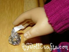 Miniature Hershey Kisses for your 18 inch Doll – Polymer Clay Tutorial