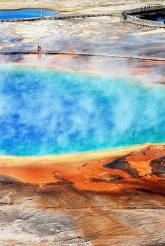 Yellowstone National Park, USA.