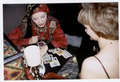 I think it would be AWESOME to hire a fortune teller at your wedding or rehearsal dinner. Just make sure you tell the fortune teller to put a time limit spent with each person. Be sure to have a sign up sheet and a timer!  #Fortuneteller  #ToriRogers  #Weddingreception  #Weddingentertainment