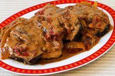 Hungarian Pot Roast with Sour Cream-Paprika Gravy