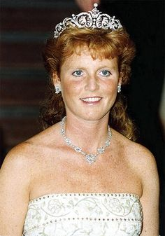 Lifestyle:  Sarah Ferguson received a diamond tiara bought by the royal family from Garrards for her 1986 wedding to Prince Andrew, Duke of York.