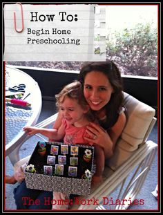 how to home preschool; part 1