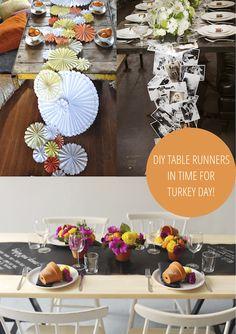 holiday, tabl runner, runner diy, diy comida, awesom tabl, 10 awesom, christma craft, diy tabl, table runners