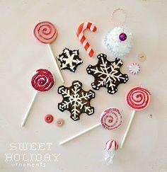 Homemade ornaments. #Christmas #kids #ornaments