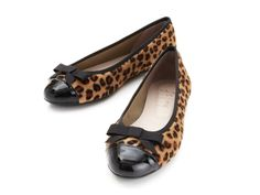 Leopard Ballet Flats by French Sole by
