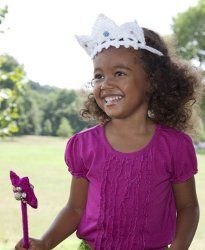 Have fun with your daughter and have a play date while she wears her new princess tiara and wand. These free crochet patterns are easy to make and you'll have loads of fun wearing them!