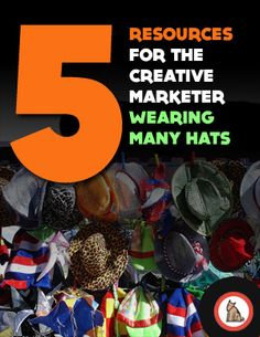{Playing Favorites} 5 resources for the creative marketer wearing many hats, some obvious and others not... Which sites, blogs or podcasts do you favor everyday? Let's chat in the comments.
