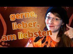 Learn German - Episode 44: gerne, lieber, am liebsten - YouTube