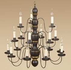 Colonial Style Chandelier