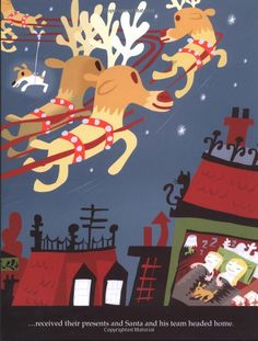 Olive, the Other Reindeer by Vivian Walsh. Illustrated by J.otto Seibold: Based on the author's real life Jack Russell Terrier. Olive is a relentlessly active, determined, well-loved, and sometimes confused lap dog.  #Books #Kids #Christmas #Vivian_Walsh