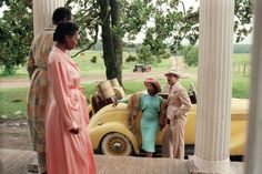 Still of Whoopi Goldberg and Margaret Avery in The Color Purple