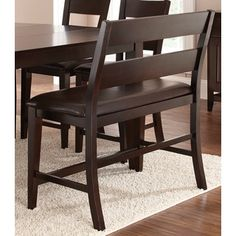 Vaughn Counter Height Bench   Overstock™ Shopping - Great Deals on Bar Stools