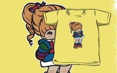 Rainbow Brite [ iPhone / iPod case, Tshirt & Print ] by Damienne Bingham