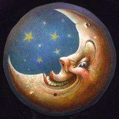 Smiling Moon by Derek Ashton