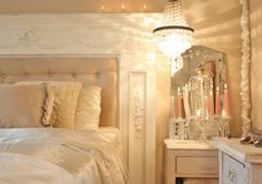 The Old Painted Cottage {The Blog}: Cottage8 Master Bedroom: Behind the Scenes  romantic