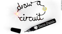 Liquid lights and musical posters: Welcome to the world of electric paint from CNN Tech