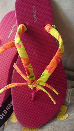LATINA CON ESTILO ELOCUENTE - Como decorar sandalias super facil