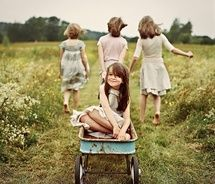 little girls, friends, famili, kid photo, children