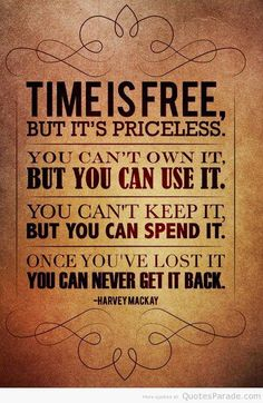Time quote via www.MarcandAngel.com