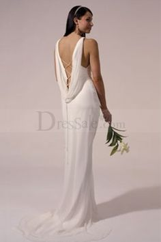 My perfect wedding dress maybe on pinterest 42 pins for Satin cowl neck wedding dress