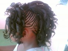 images of braided mohawks for little girls  | hot pictures of braided hairstyles for black kids