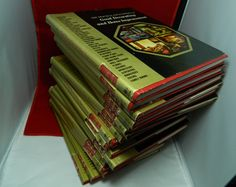 Mid Century Home Decor Books Set of 18 Encyclopedias Good Decorating. $100.00, via Etsy - WANT!