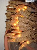 Grungy Clove scented lights -