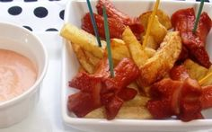 Potato Fries and Hot Dogs (Salchipapas)