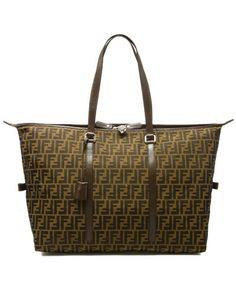 FENDI Zucca Fabric Duffel Bag