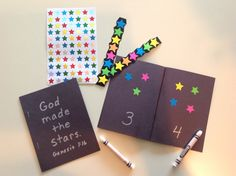 This counting book activity is found in First Steps in Missions, vol. 19.