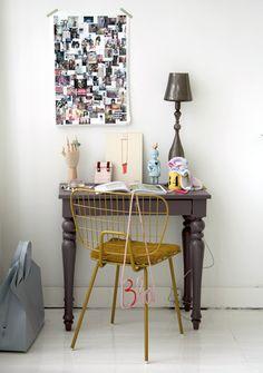 #desk #chair