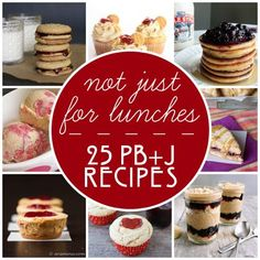 Not Just for Lunches: 25 PB recipes