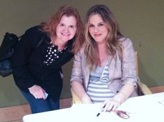 The Kind Diet author Alicia Silverstone book signing with Stephanie Weaver