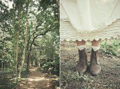 A DIY Countryside Wedding Celebration