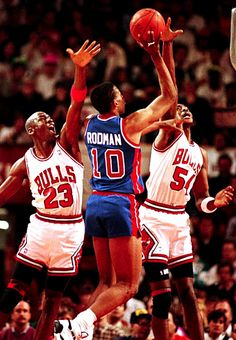 Mike And Horace Double Up On Rodman.